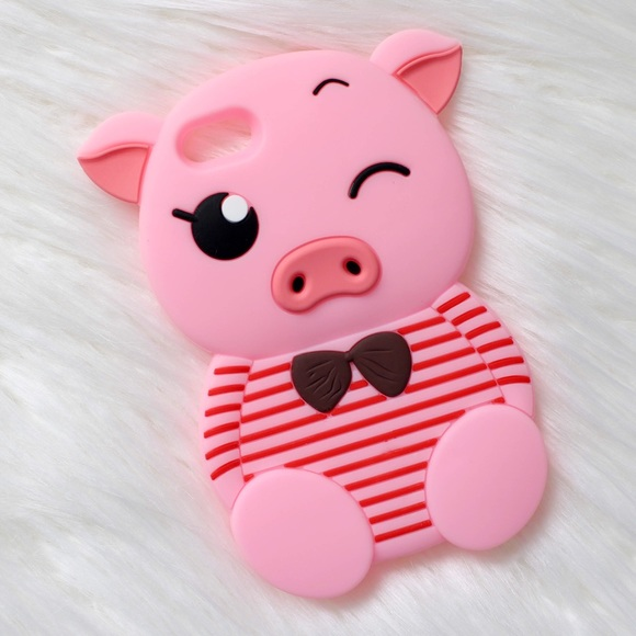 Other - Cute Brand New Piggy Silicone Phone Case